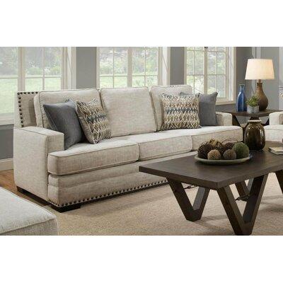 Vighnesh Standard Sofa Upholstery: Symbio Cream