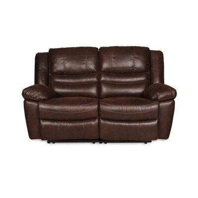 Du Side by Side Reclining Loveseat Upholstery: Espresso