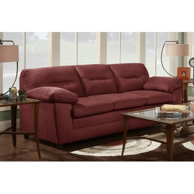 Probst Sofa Upholstery: Cougar Red