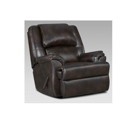 Wersley Chaise Manual Rocker Recliner Color: Brahma Chocolate