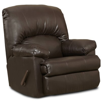 Pennsport Manual Rocker Recliner Upholstery: Ty Chocolate