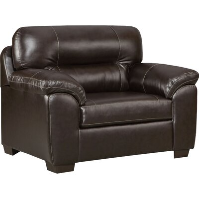 Gardner Armchair Upholstery: Chocolate
