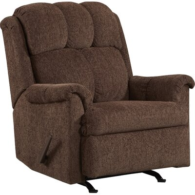 Rocker Recliner Color: Chocolate