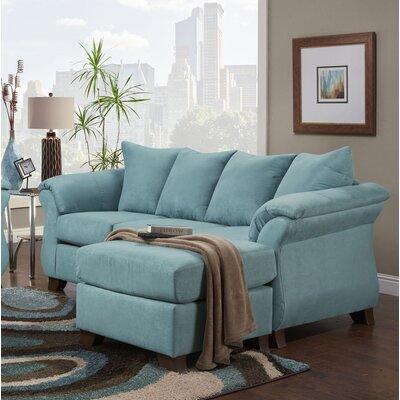 Payton Reversible Sectional Upholstery: Capri
