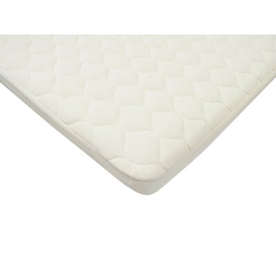 Organic Waterproof Quilted Pack n Play Mattress Pad Cover