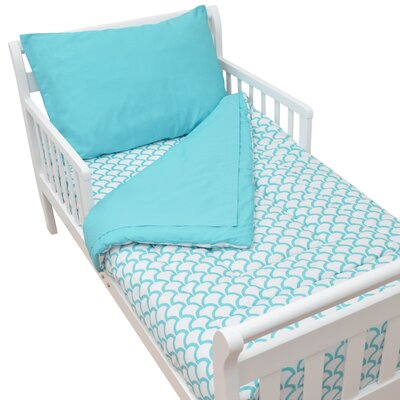 American Baby Company Percale 4 Piece Toddler Bedding Set 1440 ASW
