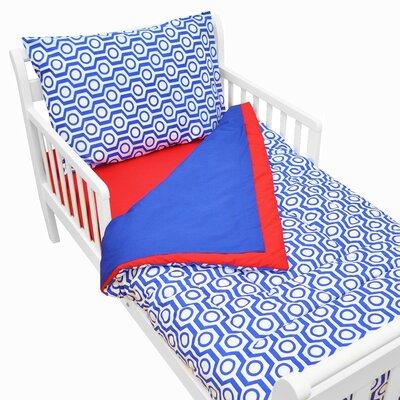 Percale 4 Piece Toddler Bedding Set 1440 RH