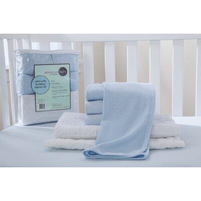 Viv + Rae Russel Portable Mini Starter 6 Piece Crib Bedding Set VVRE3046 39564224