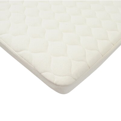 Organic Waterproof Quilted Bassinet Mattress Pad Cover