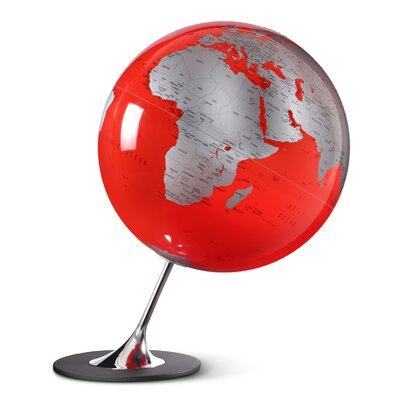 Anglo Globe Color: Red