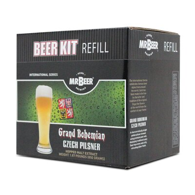 Mr. Beer Czech Pilsner Beer Making Refill Kit 60962