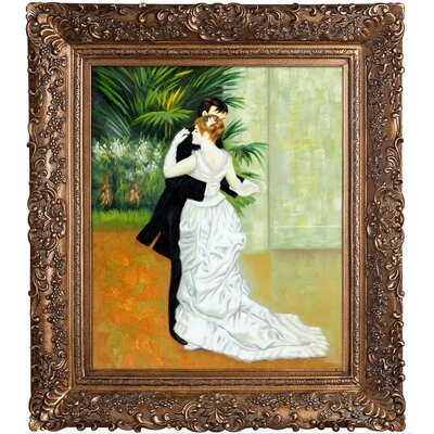 Dance in The City by Pierre-Auguste Renoir Framed Painting RN831-FR-256G20X24