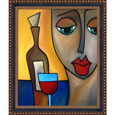 'By Myself' by Tom Fedro Framed Print Painting 2T2490F2396420X24-FR-870901520X24