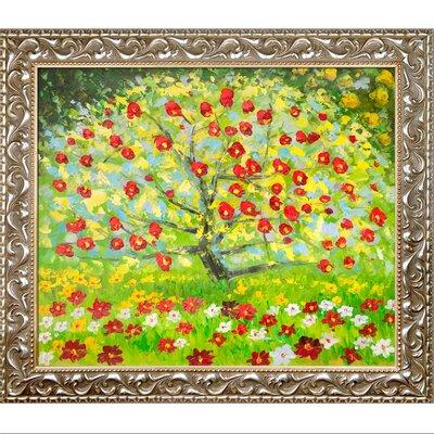 The Apple Tree by Gustav Klimt Framed Painting KL2477-FR-N11620X24