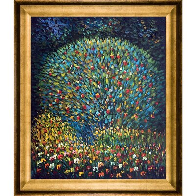 Apple Tree I by Gustav Klimt Framed Painting KL2172-FR-994620X24
