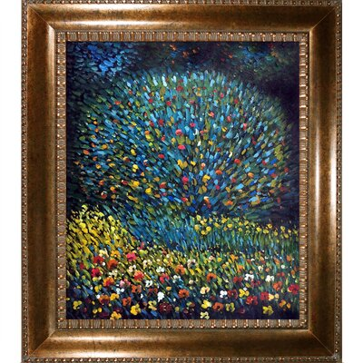 Apple Tree I by Gustav Klimt Framed Painting KL2172-FR-M8098620X24