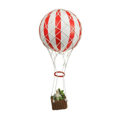 Hot Air Balloon Twelve Days of Christmas Ornament XM0132-RE/WH Partridge