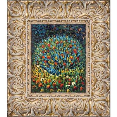 'Apple Tree I' Framed Oil Painting Print on Canvas