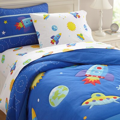 Olive Kids Cotton Comforter Set Size: Full