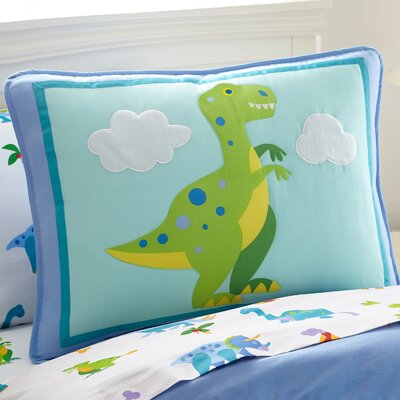 Olive Kids Dinosaur Land Toddler Pillow Case 65412