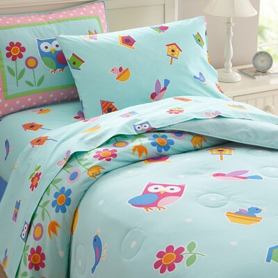Olive Kids Birdie Sheet Set Size: Twin