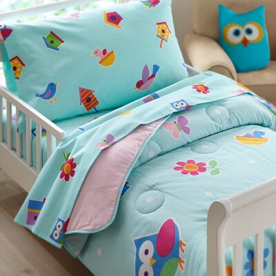 3 Piece Olive Kids Birdie Toddler Sheet Set 92413