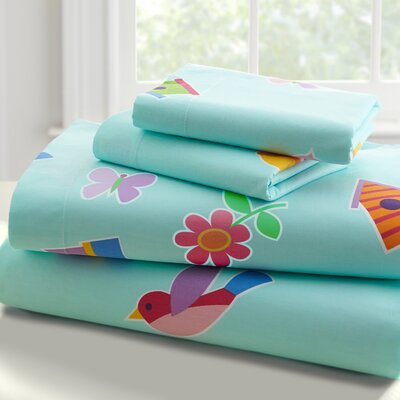 Olive Kids Birdie Sheet Set Size: Full