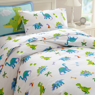 Olive Kids Dinosaur Land Duvet Cover Size: Full