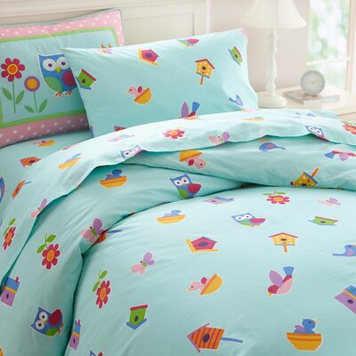 Olive Kids Birdie Duvet Cover Set Size: Twin