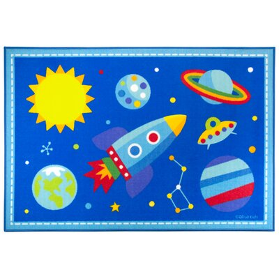 Olive Kids Out of this World Area Rug Rug Size: 3'3