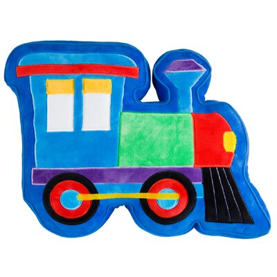 Olive Kids Trains, Planes, Trucks Plush Pillow