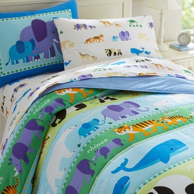 Olive Kids Cotton Comforter Set Size: Twin