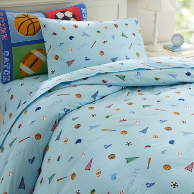 Olive Kids Game On Duvet Cover Size: Full