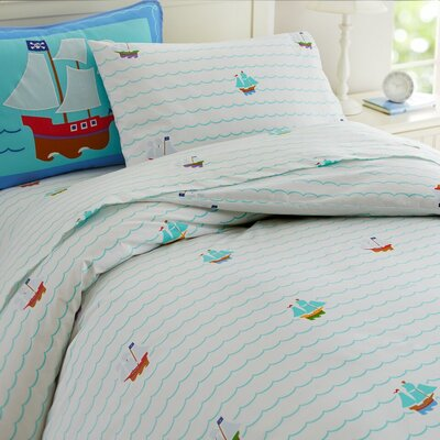 Olive Kids Pirates Duvet Cover Size: Full