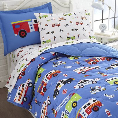 Heroes Bed-In-a-Bag Set Size: Full