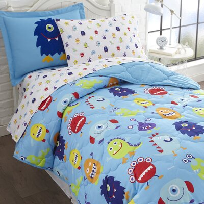 Monsters Bed-In-a-Bag Set Size: Twin