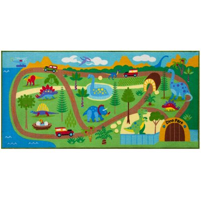 Dinosaur Land Area Rug