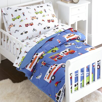 Heroes 4 Piece Toddler Bedding Set 88691