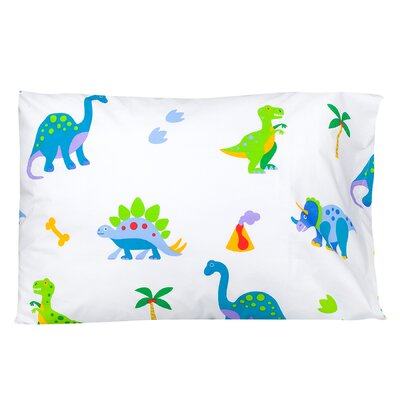 Dinosaur Land Pillow Case