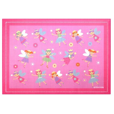Olive Kids Fairy Princess Area Rug Rug Size: 5 x 7