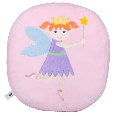 Olive Kids Fairy Princess Plush Throw Pillow