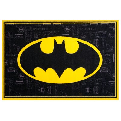 Batman Black Area Rug