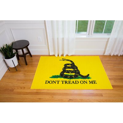 Oliver Kids State of Mind Yellow Area Rug