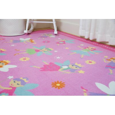 Olive Kids Fairy Princess Area Rug Rug Size: Rectangle 5 x 7