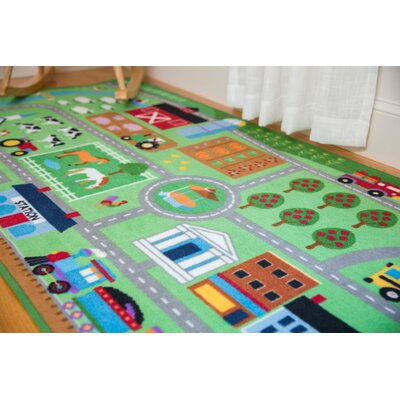 Farm Land Area Rug