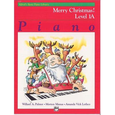 Basic Piano Course: Merry Christmas! Book 1A
