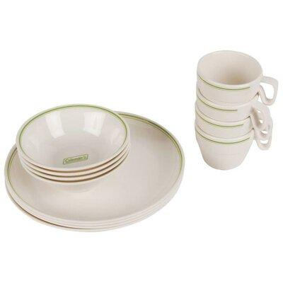 Melamine 12 Piece Dinnerware Set 2000016427