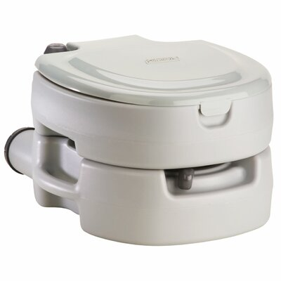 Portable Flush Round One-Piece Toilet