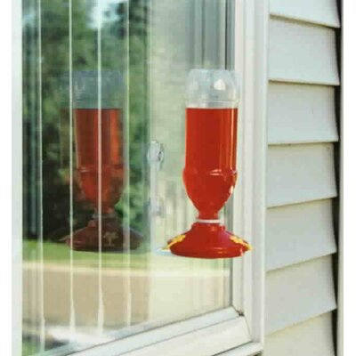 2-Pack Window Hummingbird Feeders 14633