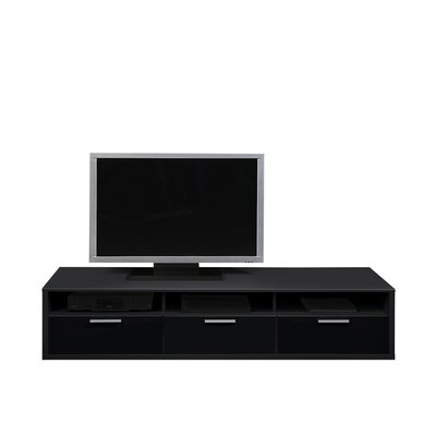 Game Tv Stand Finish: Black  Width: 181cm
